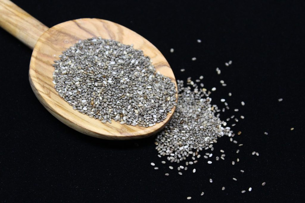 chia seeds for a healthy skin