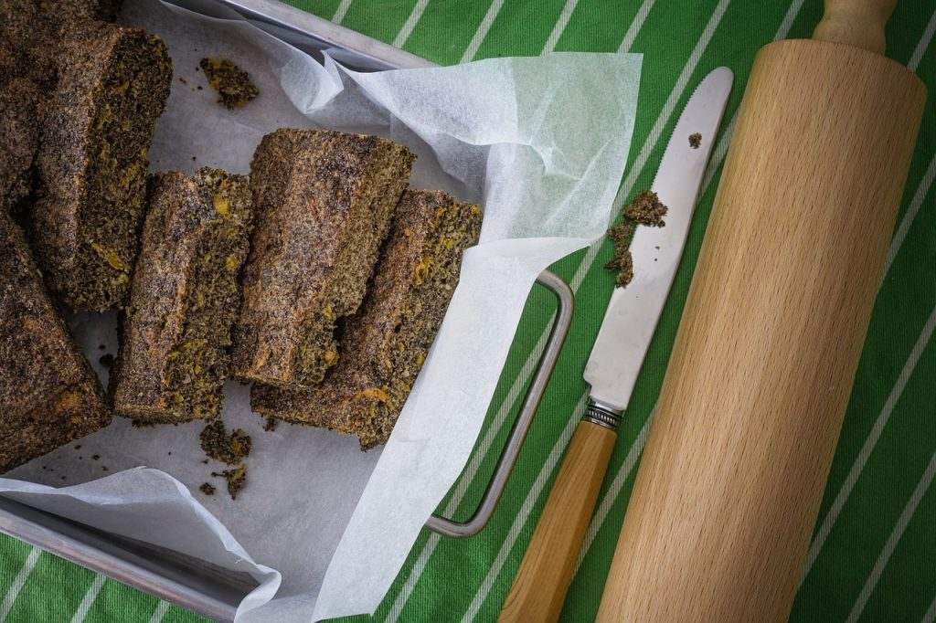 Chia seeds based baked goodies