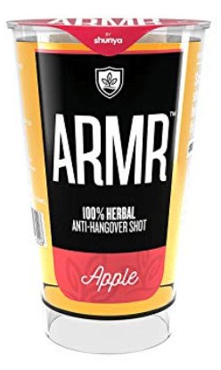 100% Herbal Anti-Hangover Shots by ARMR: #FirstImpression