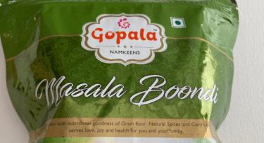 Gopala Masala Boondi