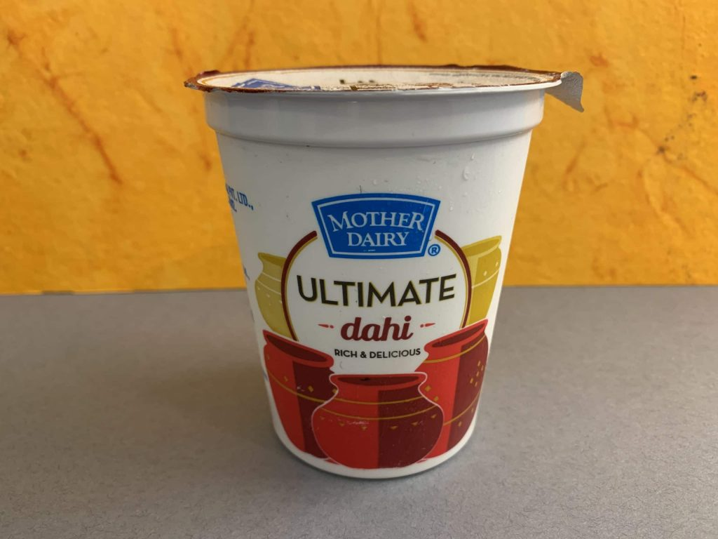 Mother Dairy Ultimate Dahi: Packaging, Price And Flavor Details