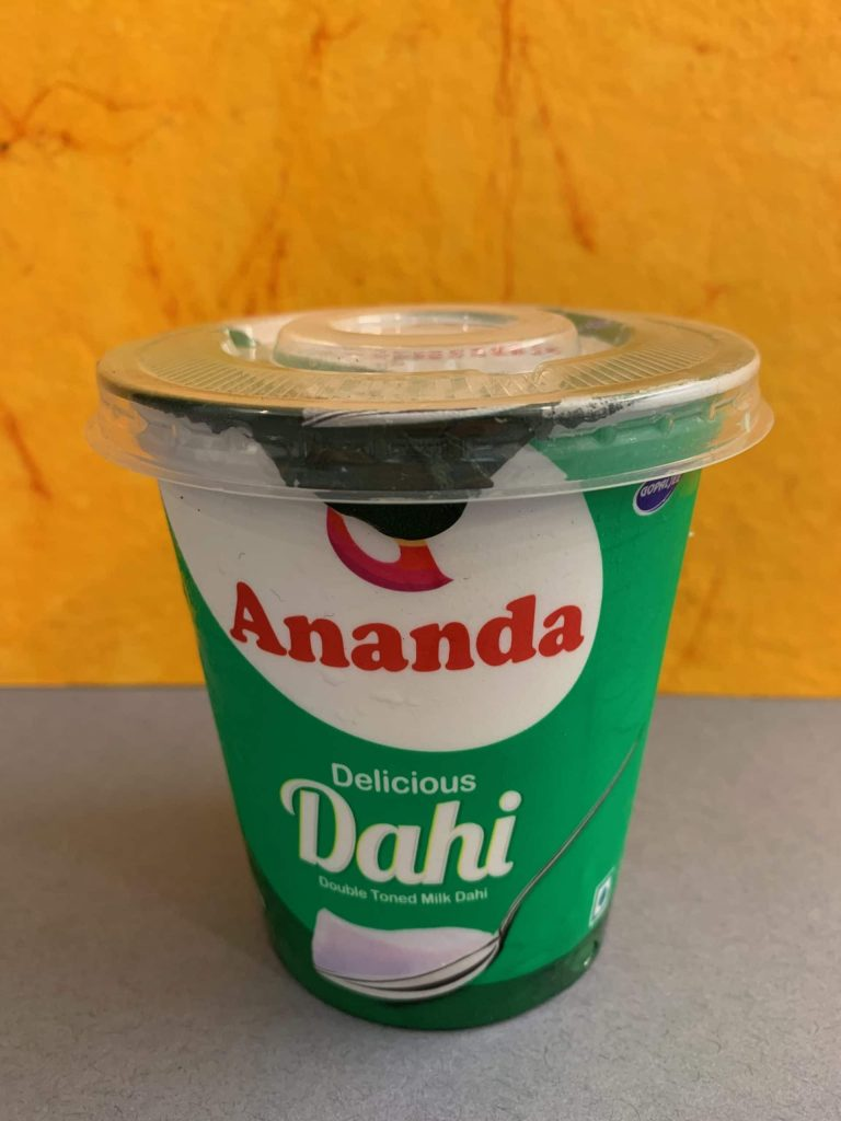 Ananda Delicious Dahi: Packaging, Price And Flavor Details