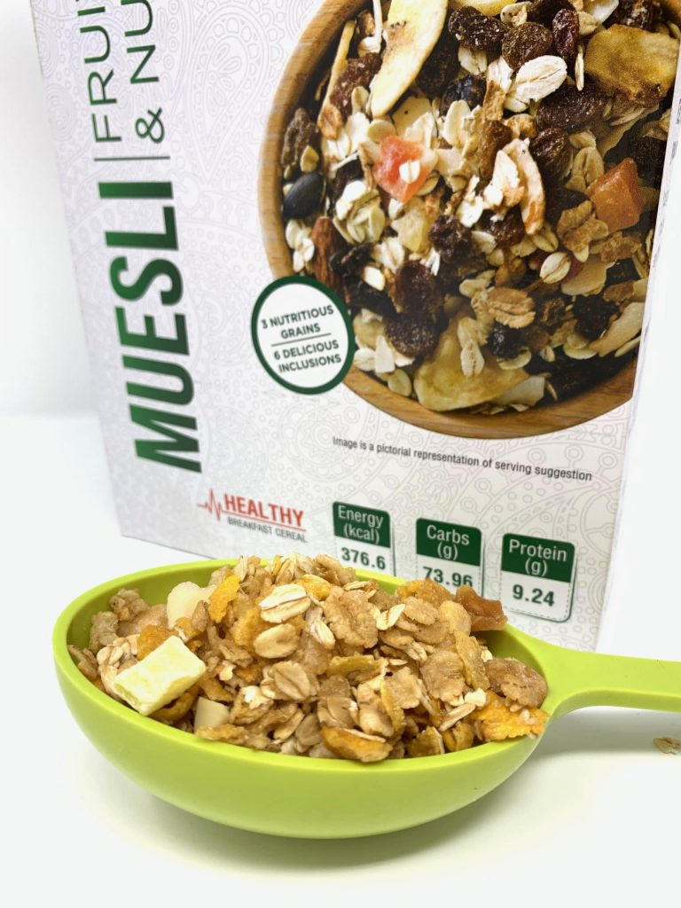 Indian Earth Muesli( Fruits & Nuts): #FirstImpression