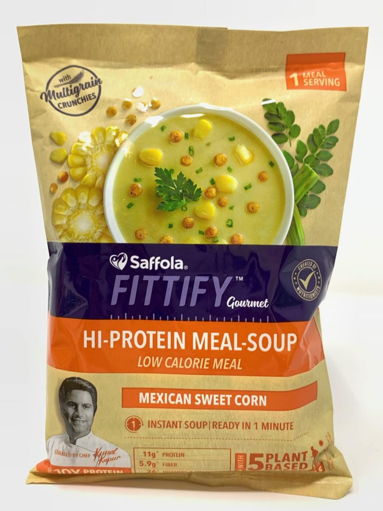 Saffola FITTIFY Gourmet Hi-Protein Soup Meal: #FirstImpression