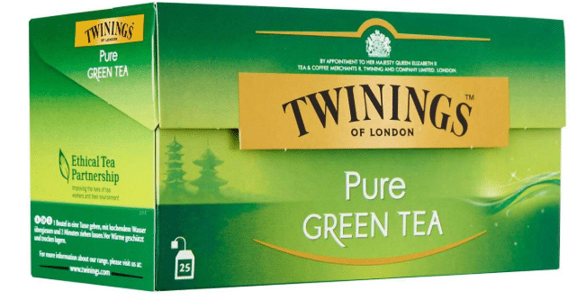 Twinings Of London Pure Green Tea: Packaging, Flavor And Price Details