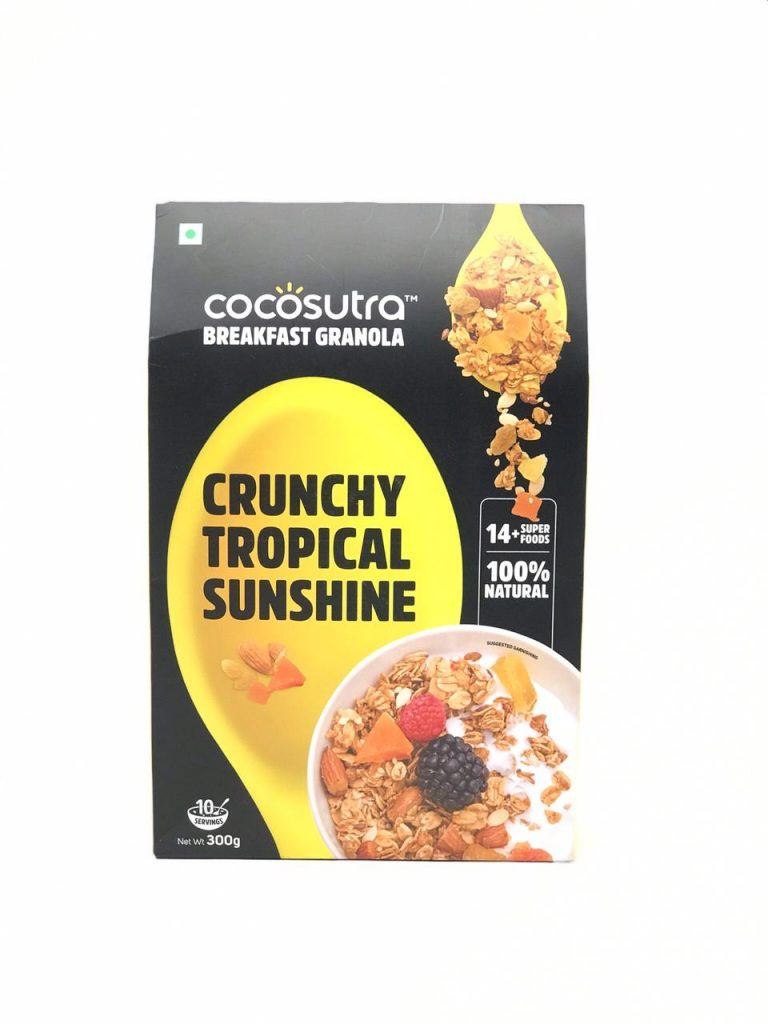 first impressions of cocosutra's crunchy tropical granola