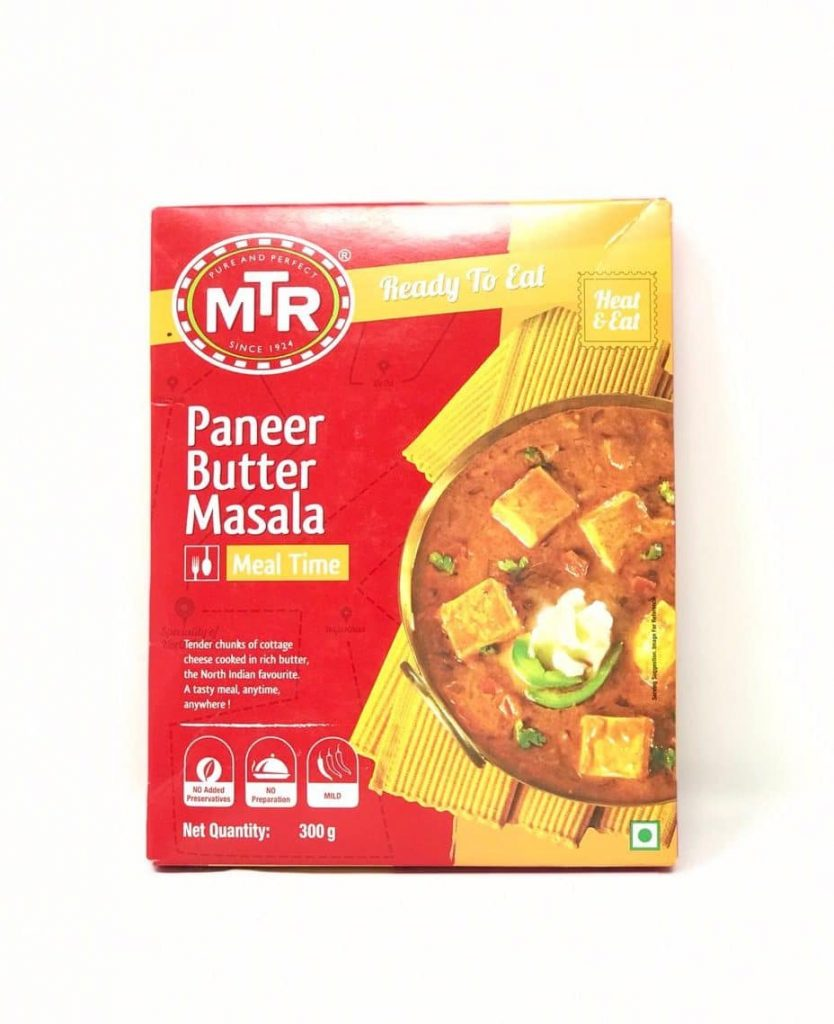 MTR's Ready To Eat Paneer Butter Masala: #FirstImpressions