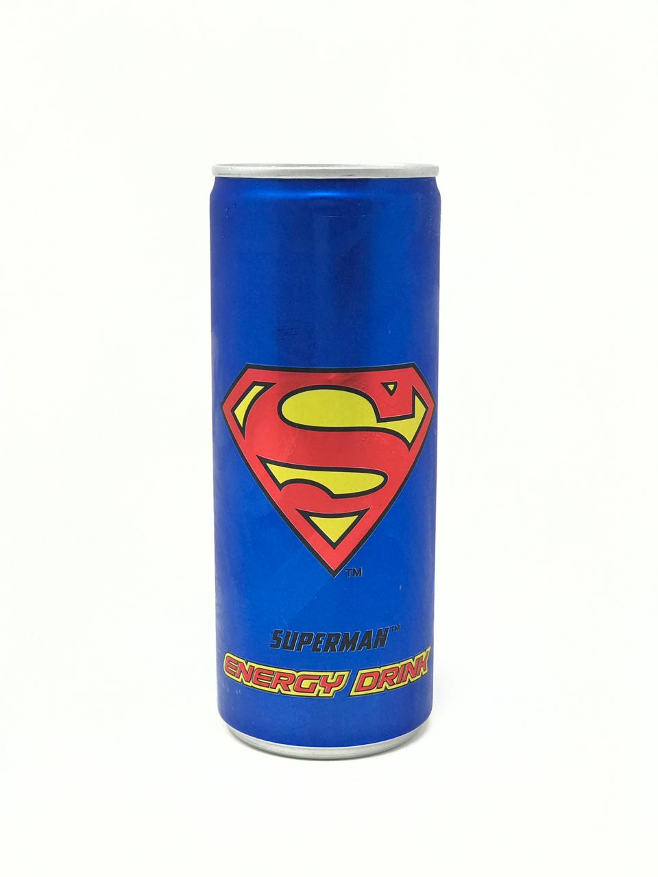Superman Energy Drink: #FirstImpressions
