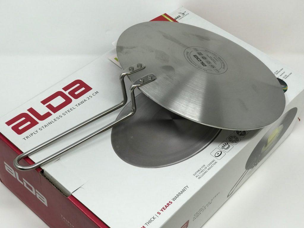 Alda Stainless Steel Tawa