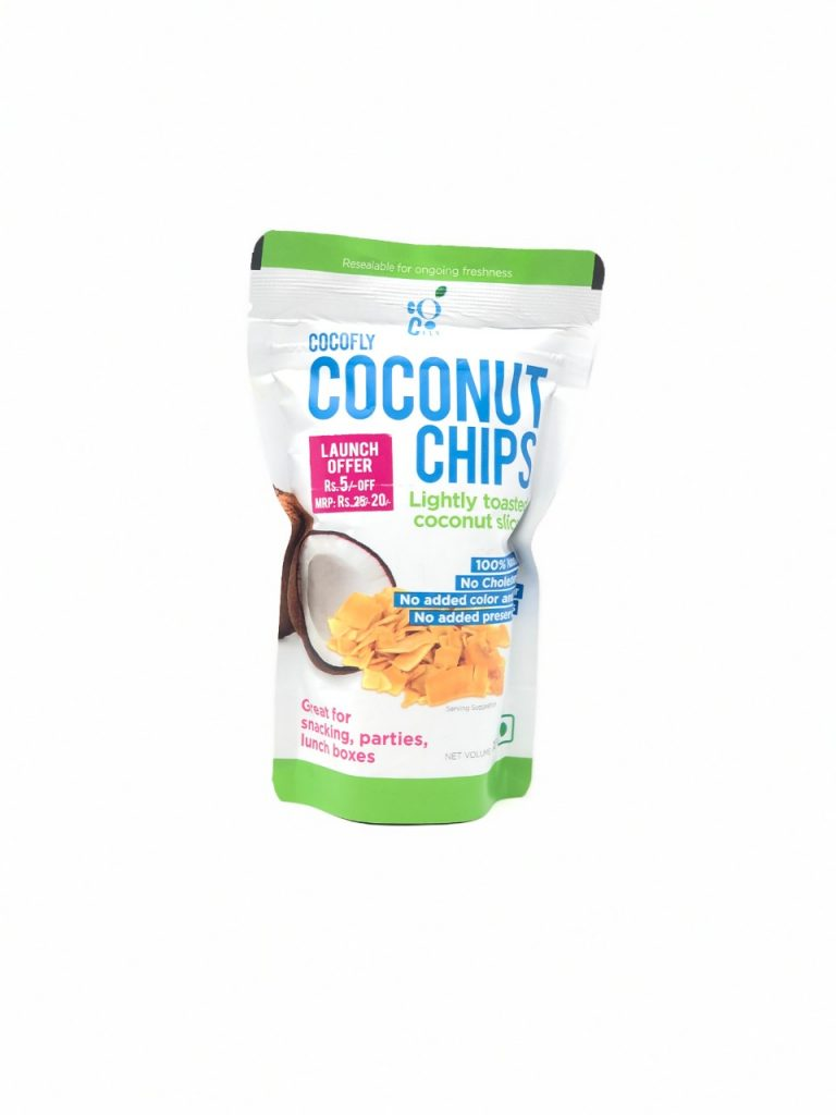 first impressions of cocofly coconut chips