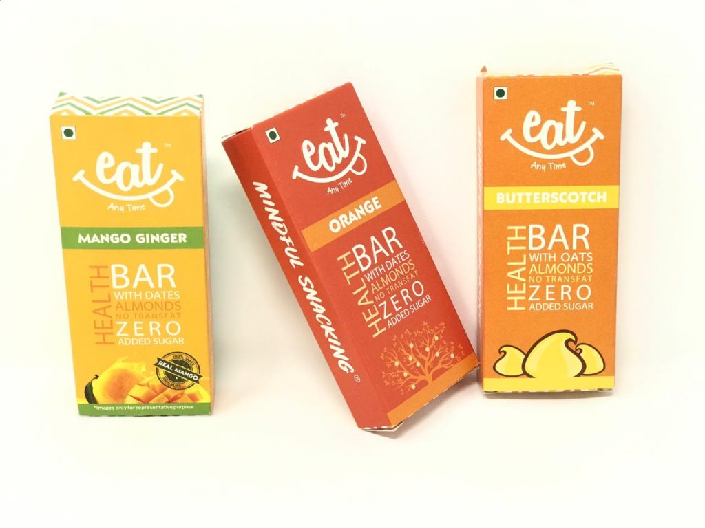 first impression of eat anytime health bar