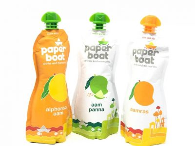 first impression of mango infused paperboat drinks