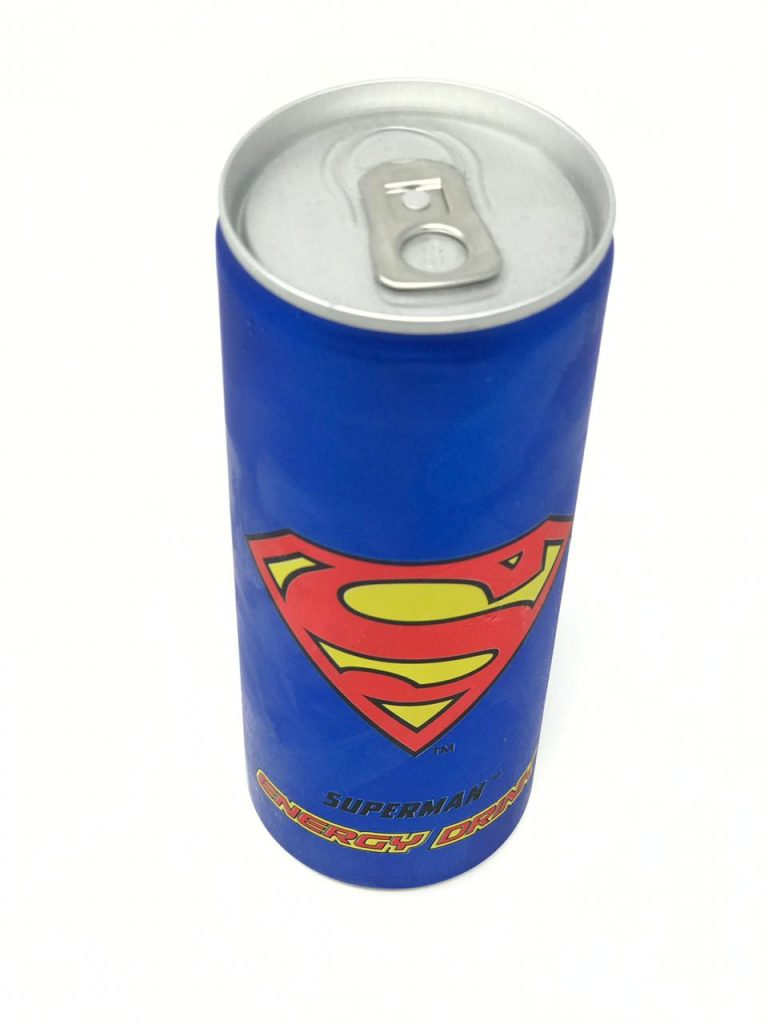 First impressions of superman energy drink