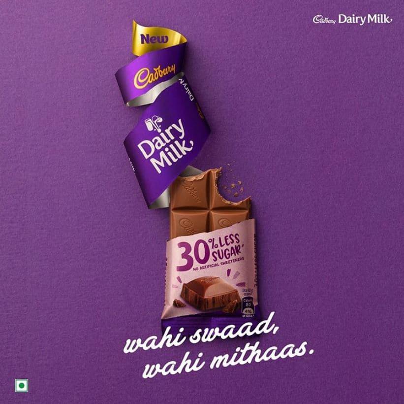 Cadbury Dairy Milk 30% Less Sugar: #FirstImpression