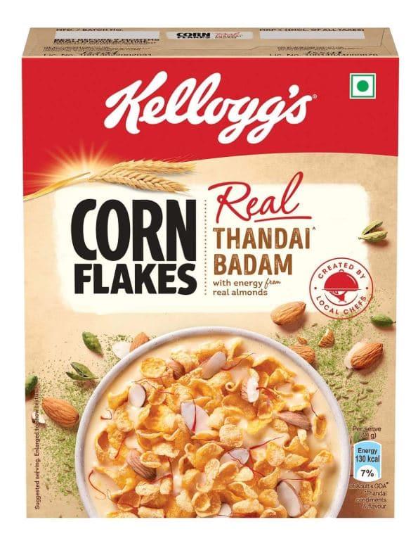 Kellogg's Cornflakes Real Thandai Badam: #FirstImpressions