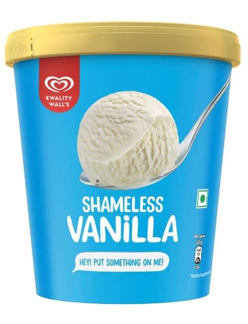 Kwality Walls Shameless Vanilla Frozen Dessert: #FirstImpressions