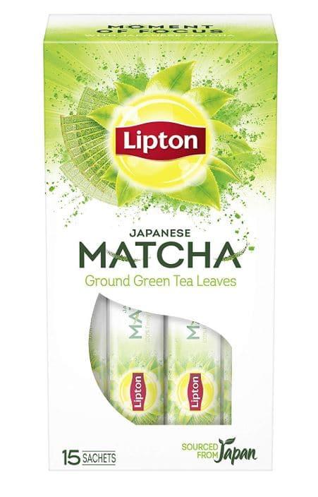 Lipton Japanese Matcha: #FirstImpressions