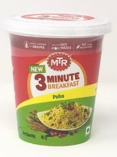 MTR 3-Minute Breakfast Poha: #FirstImpressions