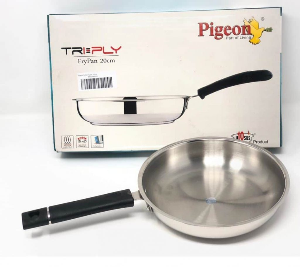 Pigeon Tri-Ply Fry Pan: #FirstImpressions