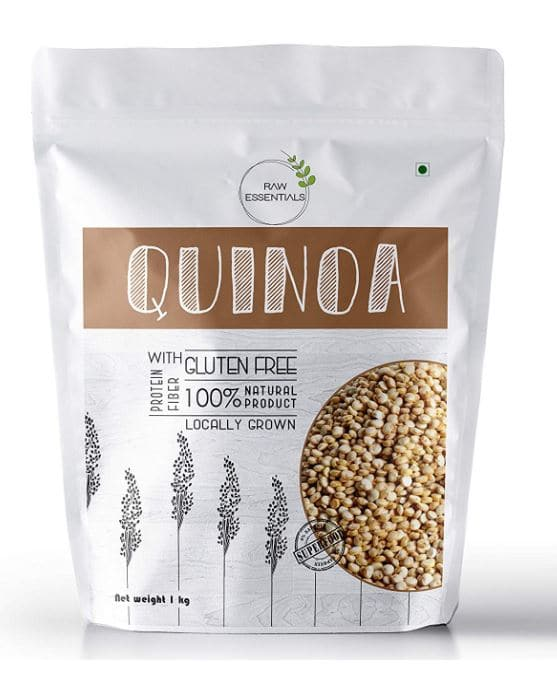 Raw essentials quinoa