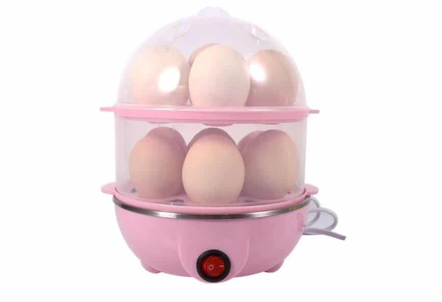 Ronteno Stainless Steel Double Egg Boiler- Best Egg Boilers
