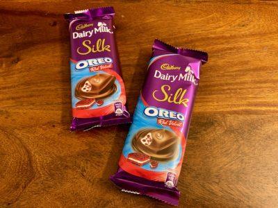 Cadbury Dairy Milk Silk Oreo Red Velvet
