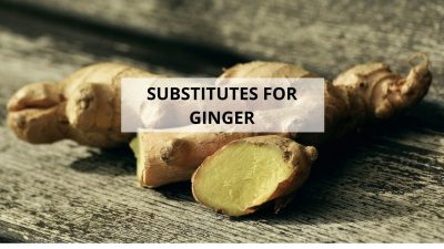 Looking For A Ginger Substitute