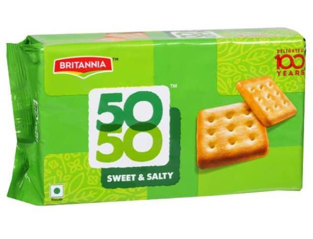 Britannia 50-50 Vs. Parle Krack Jack: The Tastier Sweet-Salty Crackers