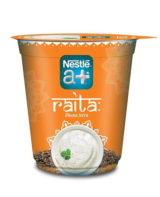 Nestle a+ Bhuna Jeera Raita: #FirstImpressions