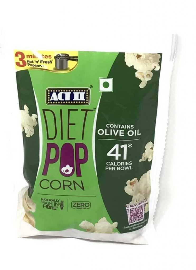 Act II's Olive Oil Diet Popcorn: #FirstImpressions