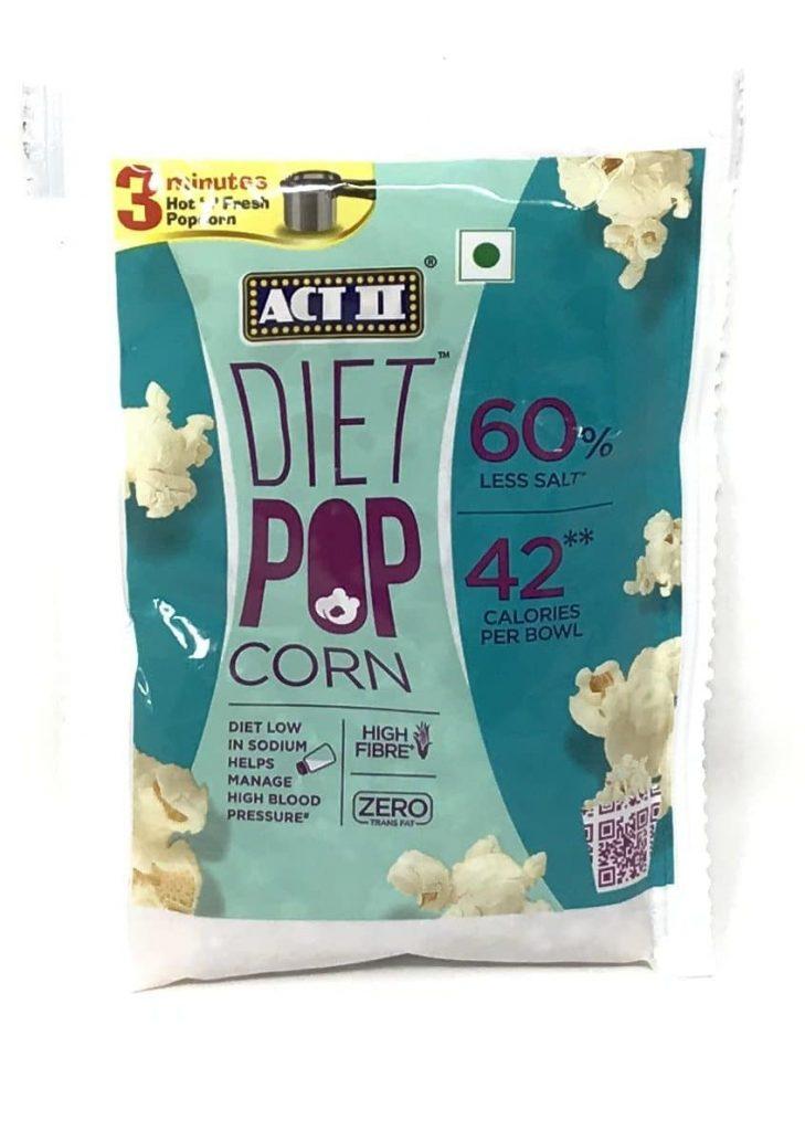 Act II's Less-Salt Diet Popcorn: #FirstImpressions