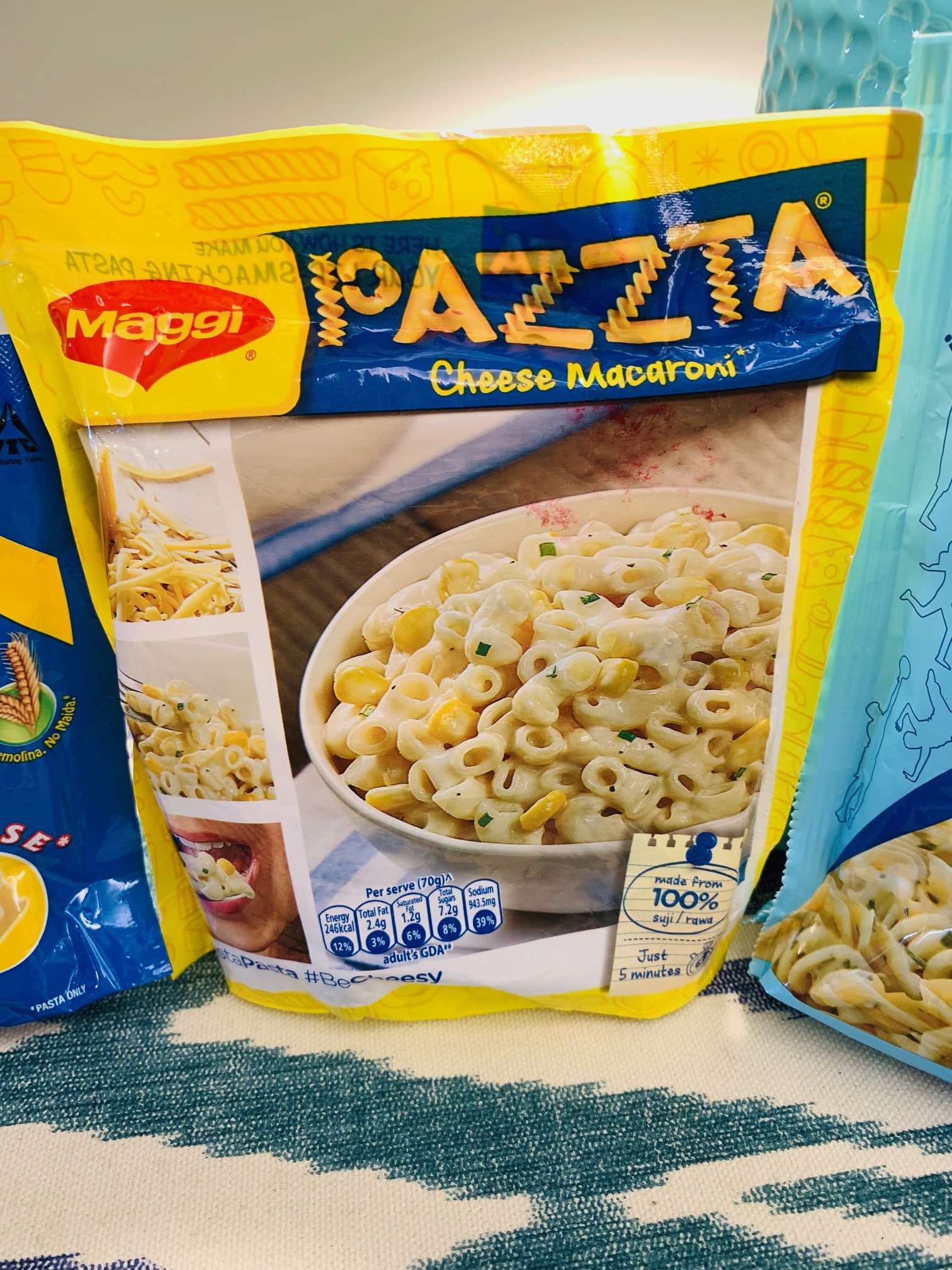Tastiest Cheese-Pasta (Ready To Cook) – Mishry Reviews