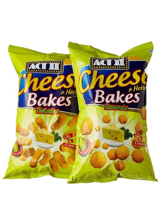 Act II's Cheese Bakes Twisties: #FirstImpressions