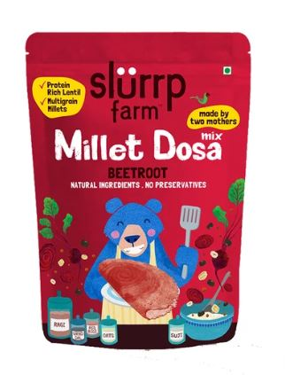 Slurrp Farm's Millet Dosa (Beetroot): #FirstImpressions