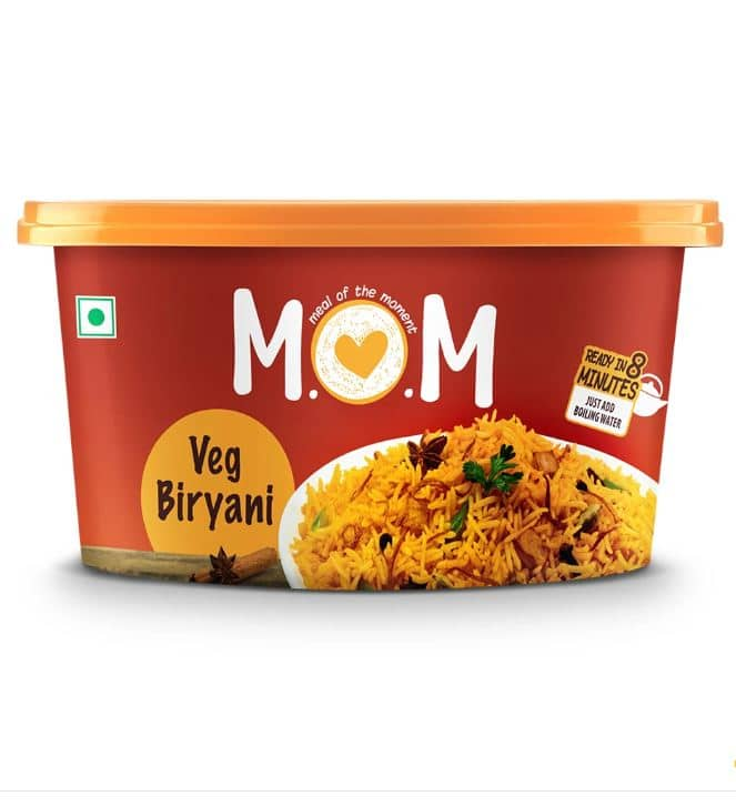 Meal Of The Moment (MOM) Instant Veg Biryani: #FirstImpressions