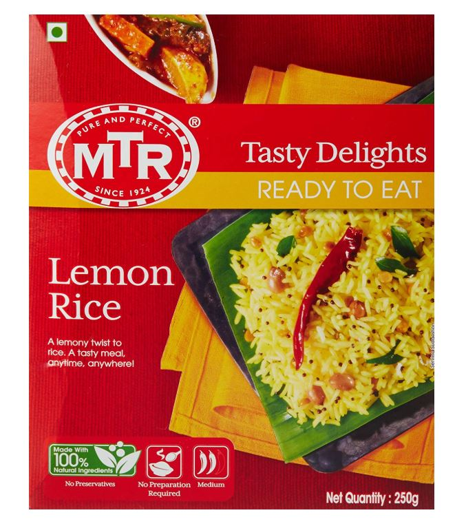 MTR's Ready-To-Eat Lemon Rice: #FirstImpressions