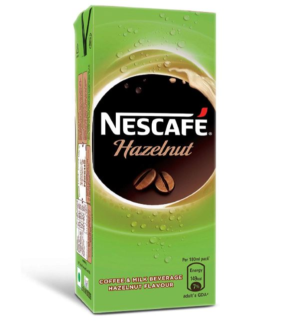 Nescafe's Hazelnut Coffee And Milk Beverage: #FirstImpressions