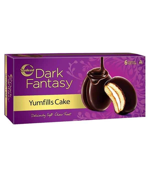 Sunfeast's Dark Fantasy Yumfills Cake: #FirstImpressions