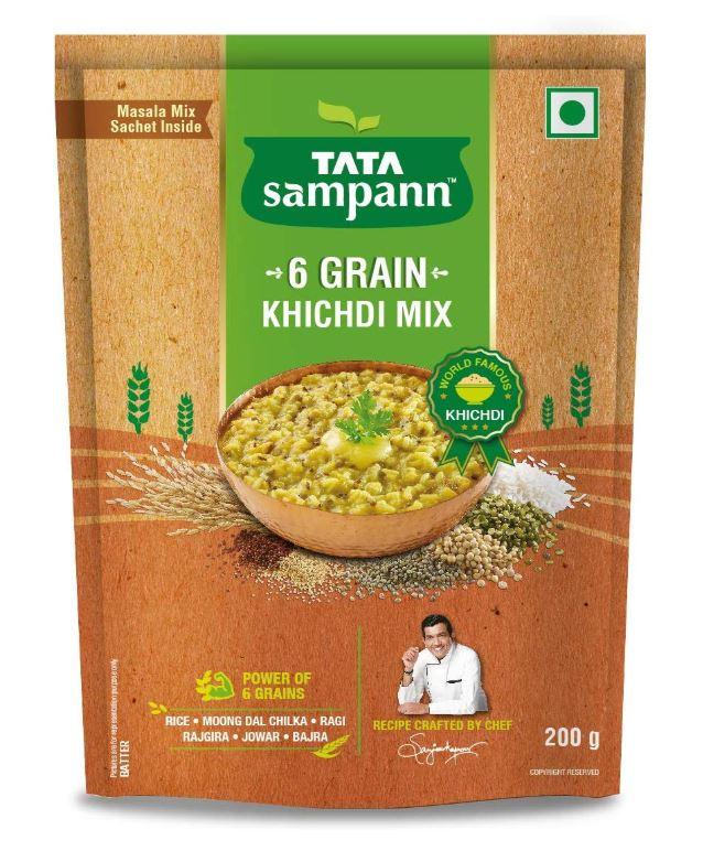 Tata Sampann 6 Grain Khichdi Mix: #FirstImpressions