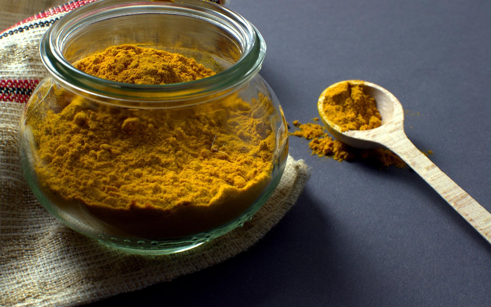 turmeric powder in a bowl