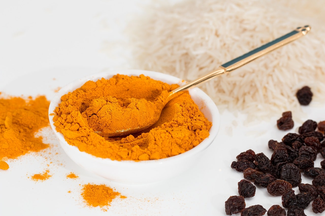 what is raw turmeric