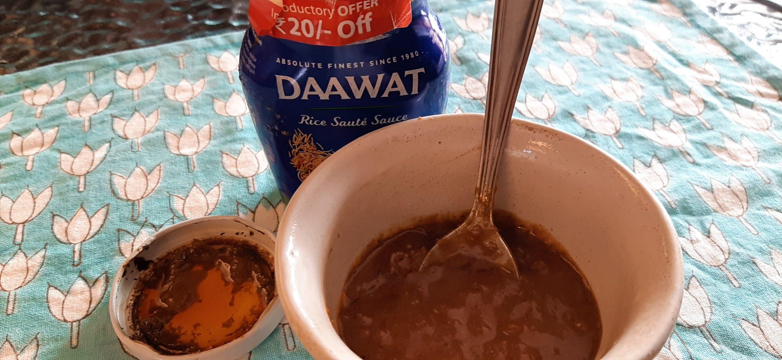 Daawat Rice Sauté Sauce (Dum Biryani): #FirstImpressions