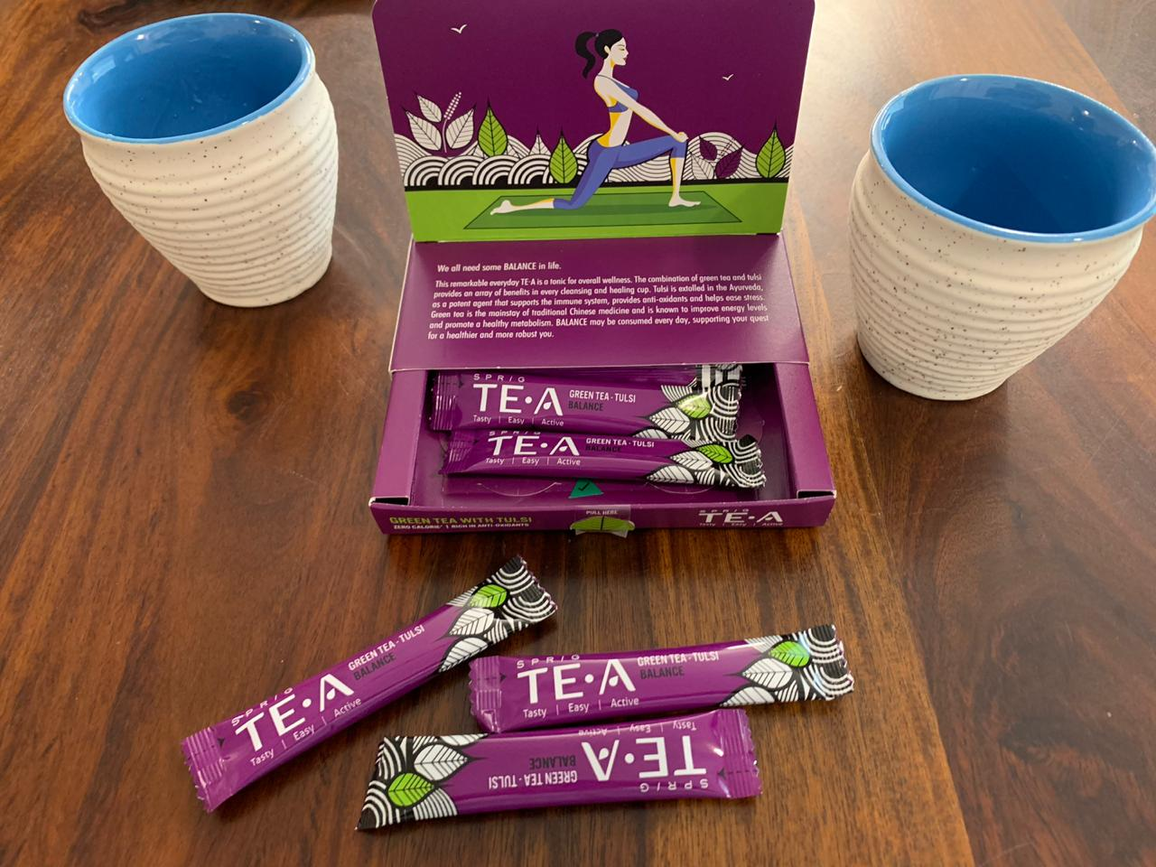 Sprig's 100% Green Tea With Tulsi: #FirstImpressions