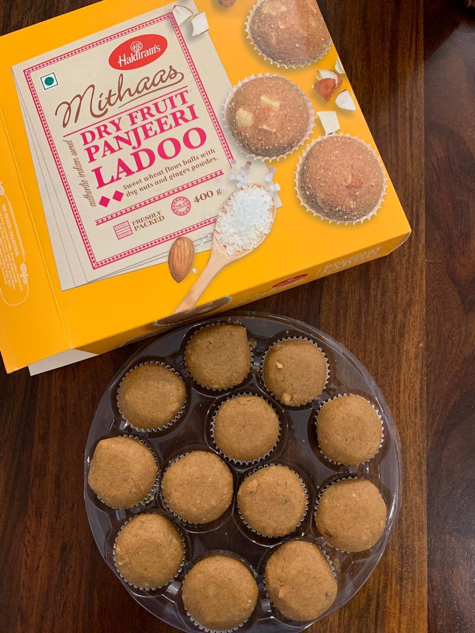 Haldiram's Mithaas Dry Fruit Panjeeri Ladooos: #FirstImpressions
