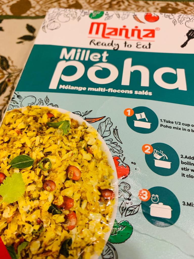 Manna's Ready To Eat Poha: #FirstImpressions