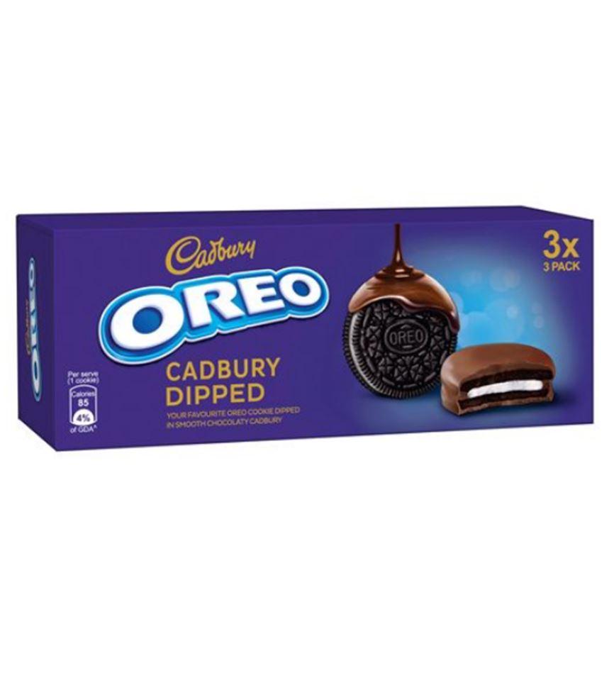 Mishry Mums Review: Cadbury Oreo Chocolate Dipped Cookies