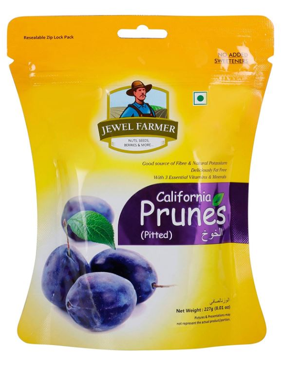 Jewel Farmer California Prunes: #FirstImpressions