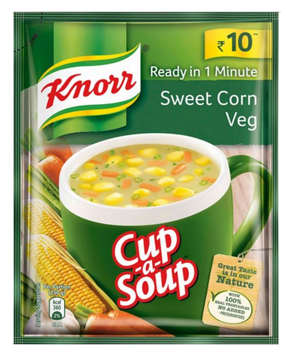 Mishry Mums Review: Knorr Sweet Corn Veg Cup-a-Soup