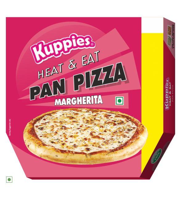 Kuppies' Margherita Pan Pizza: #FirstImpressions