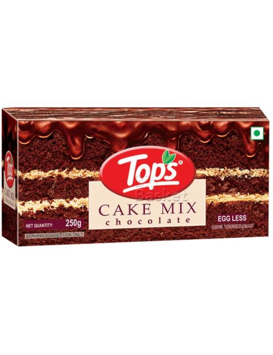 Tops Eggless Chocolate Cake Mix: #FirstImpressions